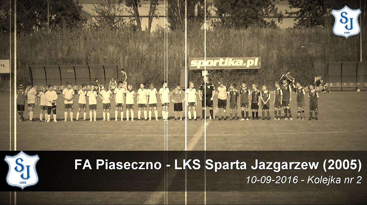 2 KOL: FA Piaseczno – Sparta 2005