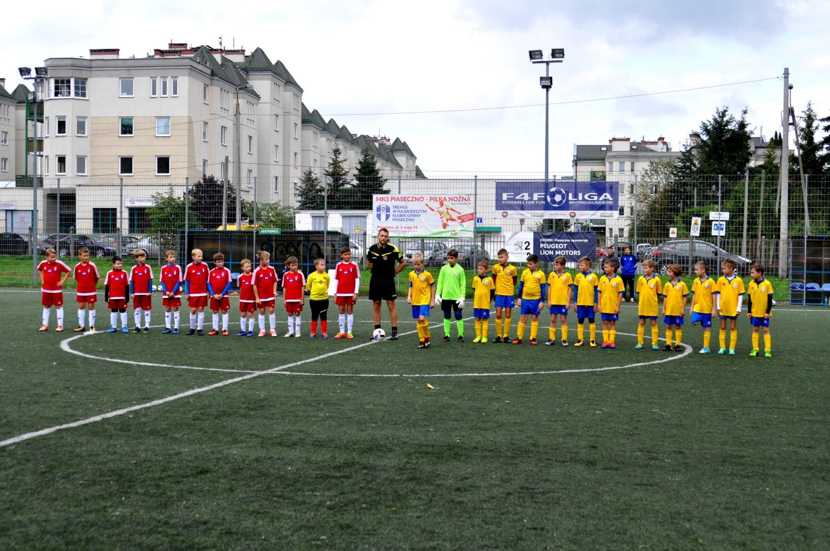 MKS Piaseczno II – LKS Sparta Jazgarzew 2007/08