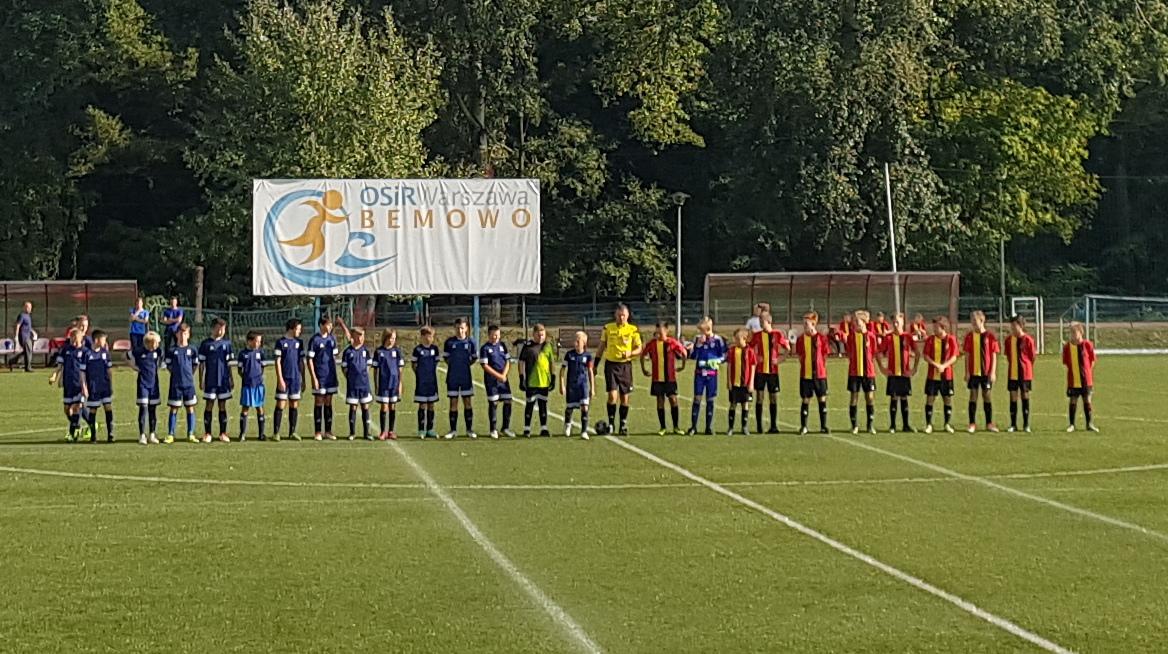 MUKS Unia III Warszawa – LKS Sparta Jazgarzew 2005/06
