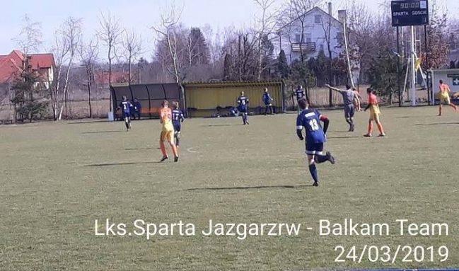 Sparta Jazgarzew- Balkan Team